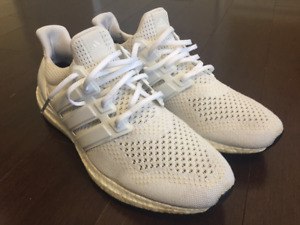 Adidas Ultra Boost Triple White 1.0 SIZE 11.5 9/10 condition
