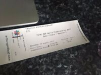 x2 BWF World Championship Tickets