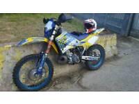 Husky wr 250cc
