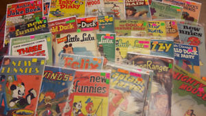 COMICS  1945 TO 1965  -   Many $7 to $15 each.