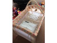 Babystart delux travel cot