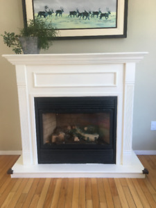 Propane fireplace, Vermont Castings