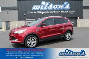 2015 Ford Escape TITANIUM LEATHER! NAVIGATION! $70/WK, 5.49% ZER