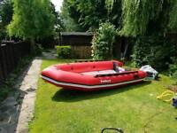 Inflatable boat Aerotec Bombard 380