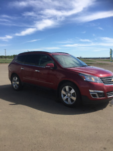 2013 Chev Traverse LTZ SUV, full warr to 165,000 kms!