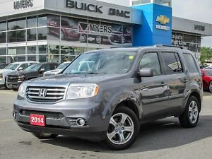 2014 Honda Pilot EX-L W/REAR DVD, LEATHER, ROOF, 4X4
