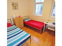 Massive twin Rooms AVAILABLE NOW ** Maida Vale ** Perfect for 2 Friends **