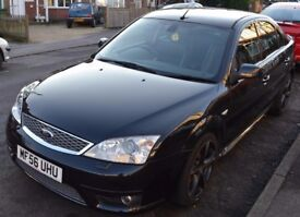 2006 Ford Mondeo ST 2.2 TDCi Black, 5 Door Hatchback, 6 Months MOT