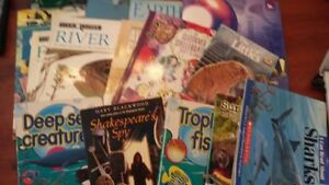 15 Books - Fish Rivers and Sharks (and one Monster High Sleepove