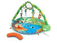 Safari swing and play playmat