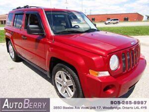 2008 Jeep Patriot Sport 4WD **CERTIFIED LOW KM** $6,999