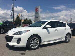 2012 Mazda MAZDA3 GT ~Low Low Km's ~Heated Seats ~Power Sunroof