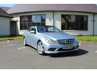 2013 Mercedes-Benz E350 AMG Sport Auto Blue Eff Converible STUNNING CONDITION!