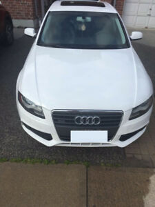 2010 Audi A4 Sedan 2.0T Premium + Leather + Sunroof