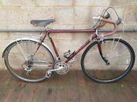 Raleigh 531 reynolds road racer touring bike bicycle