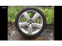 Genuine Audi spare/4th wheel for Rs6, Rs4, S6, S4, A6, A4