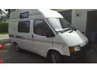 Ford Transit 2 Berth Campervan MOT Cooker Fridge Heater Electric Gas Toilet Sink Ready to Go