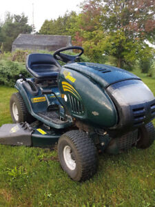 "Yardman 17HP 42"" Riding Lawnmower Great Condition"