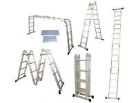 Multi purpose ladder platform