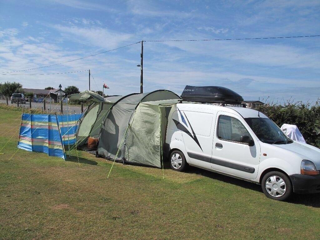 renault kangoo converted mini campervan mot to july 2018. Black Bedroom Furniture Sets. Home Design Ideas
