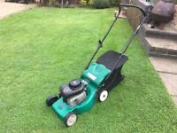 Qualcast 40p Petrol lawn mower 40cm