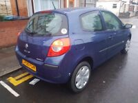 2006 Renault Clio 1.2 one year Mot excellent condition