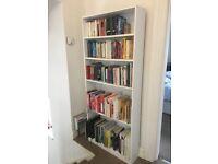 Tall, White, Bookcase