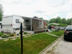 Roulotte 36 pieds au Camping Granby