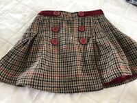 Crew Skirt Aged 4 - worn once