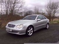 Mercedes-Benz CLK320 **72000 MILES**12 MONTHS MOT**STUNNING THROUGHOUT**MUST BE SEEN