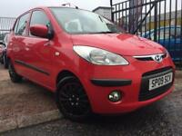 *3 MTHS WARRANTY*2009(09)HYUNDAI 110 1.2 COMFORT (76BHP) WITH 73K FSH*
