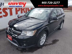 2017 Dodge Journey GT ALL WHEEL DRIVE, LEATHER SEATS, REMOTE...