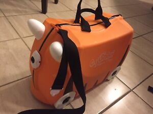 Trunki with new saddle bag