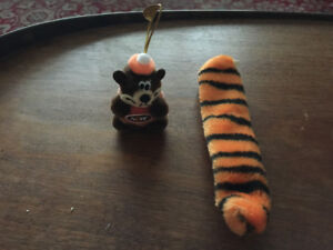 A & W Root Bear and Tony the Tiger tail
