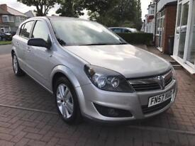 2007 (57 reg) Vauxhall Astra 1.4 i 16v SXi 5dr++LOW MILEAGE FOR AGE++NEW 12 MONTH MOT++SUPERB!!
