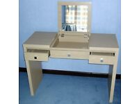 LOVELY DRESSING TABLE from NEXT with HIDDEN MIRROR & DRAWERS - DESK TABLE