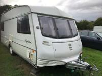 Caravan 4/5/6 berth ABI Nightstar 1996 lovely condition awning available