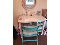 Excellent dressing table set, mirror and chair included - Shabby Chic / Vintage / Retro L@@K!!