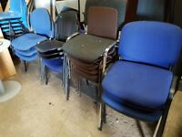 Chairs suitable for site office etc canteen