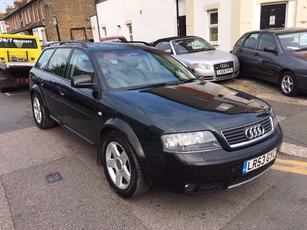 AUDI ALL ROAD ESTATE A6 2003 (53) 2.5 DIESEL QUATTRO AUTOMATIC 2 PREVIOUS  OWNER