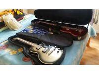 Epiphone's bass & Guitar set plus accesories