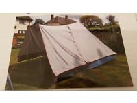 ** AS NEW ** Lichfield Special Pyramid 1 Tent + Extension