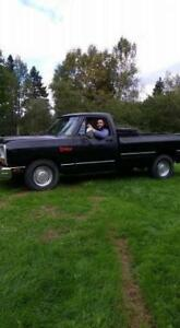 1987 dodge ram 318 solid truck no rust low millage RARE TRUCK