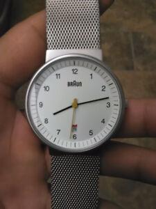 Braun Watch BN0032WHSLMHG for SALE