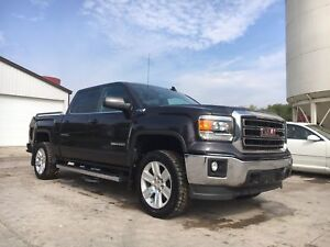 2015 GMC Sierra 1500 SLE crew Leather