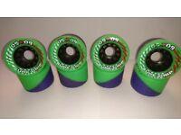 SureGrip 50/50 Roller Skate Derby Wheels x8