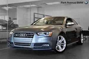 2014 Audi S5 PROGRESSIV // SUPERCHARGED // NAVI + SIEGES SPORT