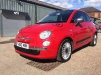 2010 60 FIAT 500 0.9 TWINAIR LOUNGE 3 Door