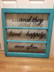 Old wooden window - for wedding or wall!