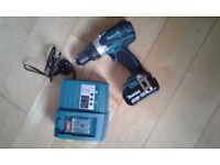 Makita DHP458 Cordless Hammer Drill 18V 4.0Ah